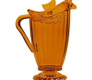 Baci Baroque & Rock Pitcher, Orange