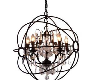 Artisanti Globe 5 Light Chandelier
