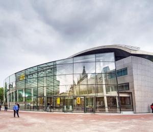 Entreegebouw Van Gogh Museum