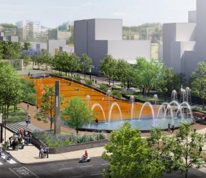 Paseo Urbano Monumento a la Madre