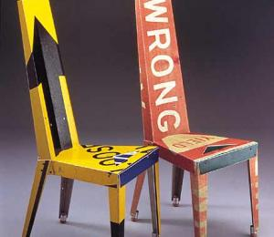 Chairs Made from Recycled Materials