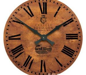 Roger Lascelles Large Vineyard French Wall Clock