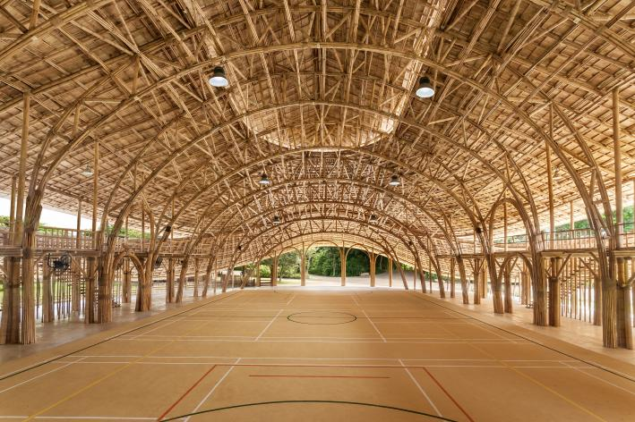 Thailand Bamboo Sports Hall