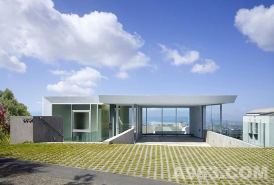 美国奥克兰住宅设计/kanner建筑事务所