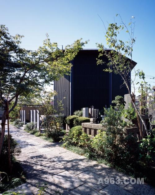 Hasshoden - Ryusenji寺Charnel房屋