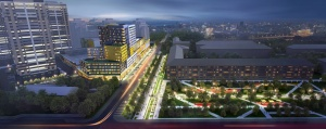 The Project of The Mixed-use Territory «Five stars»