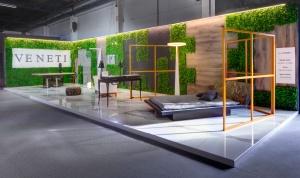 pavillion design for the veneti company at 100%hotelshow2016