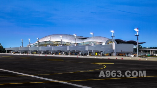 New Passenger Terminal at Franjo Tudman International Airport Zagreb