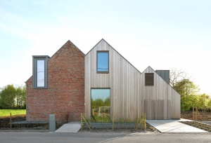 Aartrijke, Low-energy house, a sustainable renovation in a rural area